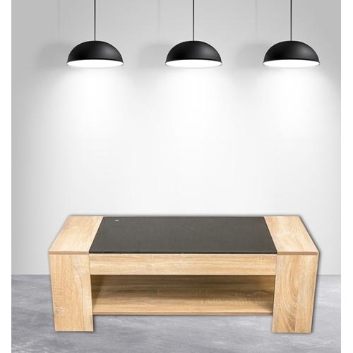 שולחן סלוני כולל מדף תחתון