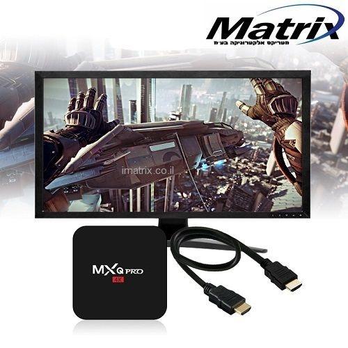 מיני מחשב מתאם לטלויזיה חכמה ANDROID 5.1 TV BOX