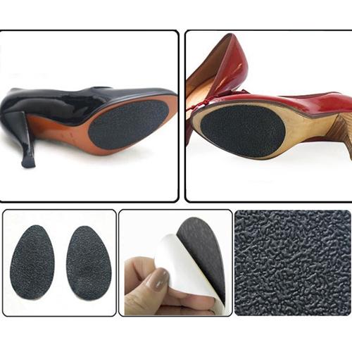זוג רפידות מונעות החלקה לסוליות הנעליים