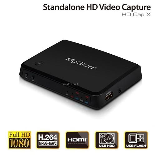 לוכד וידיאו HDMI FULL HD 1080P ישירות לDOK