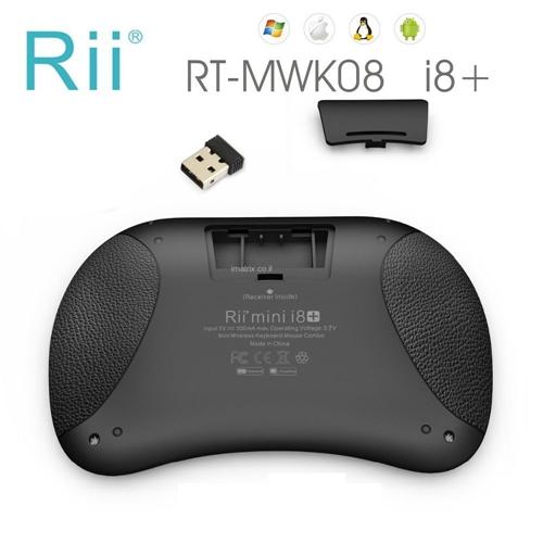 מקלדת מיני אלחוטית עם 92 מקשים דגם RITEK I8+