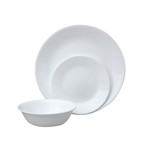 סט 18 חלקים CORELLE קורנינג Winter Frost White