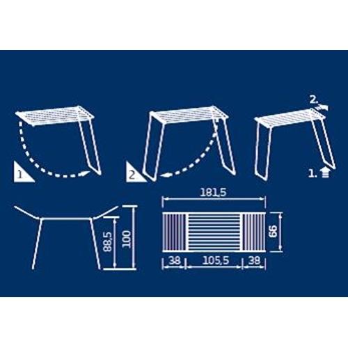מתקן לייבוש כביסה CLASSIC 180 Solid מבית LEIFHEIT