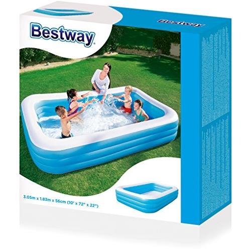 בריכה מתנפחת צבעונית לילדים Bestway 305x183x56