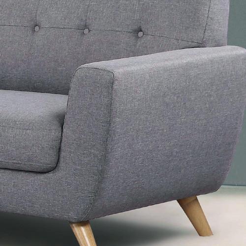 ספה דו מושבית מרשימה ונוחה בעיצוב רטרו