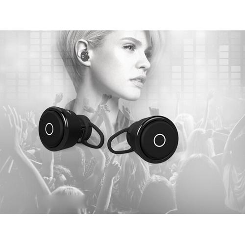 אוזניות Bluetooth אלחוטיות נטענות עם מיקרופון
