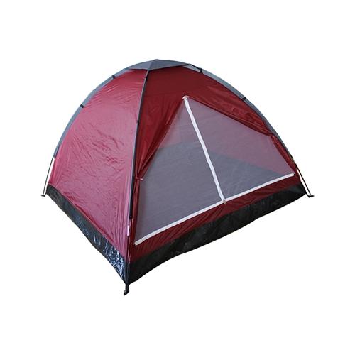 אוהל BASIC ל-4 אנשים בעל כניסה רחבה CAMPTOWN
