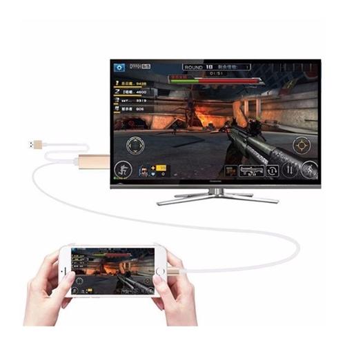 כבל מתאם מאייפון ואייפד ל HDMI