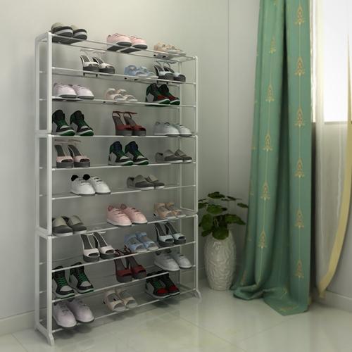 ארון נעליים קל ומודולארי לאחסון של עד 50 זוגות