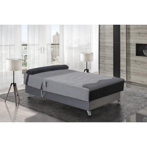 מיטה וחצי אורטופדית חשמלית מעוצבת דגם אופיר