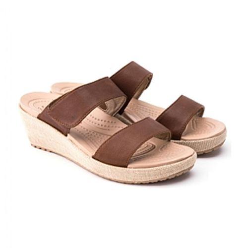 כפכפי פלטפורמה נשים Crocs קרוקס דגם A-leigh 2-strap Mini ...