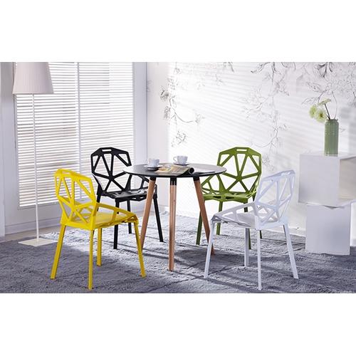 כסא פינת אוכל נוח, מודרני, ומעוצב מתאים לשימוש פנים וחוץ