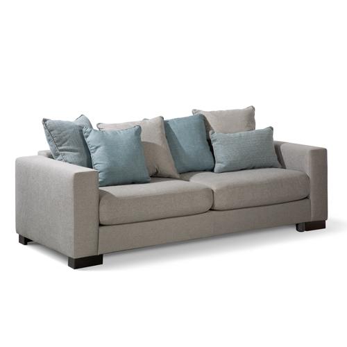 ספה תלת עמוקה ריפוד בד דגם פיקסר ביתילי
