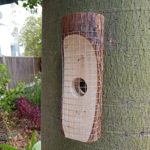 מתקן האכלה ייחודי לציפורים לשימוש בגינה ובמרפסת