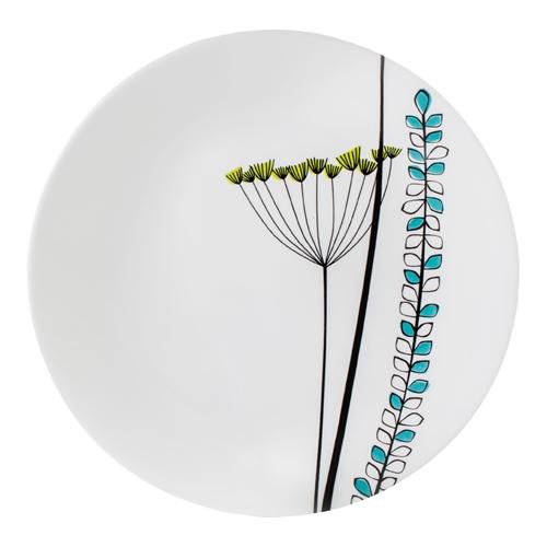 סט צלחות 24 חלקים ל 8 סועדים דגם Abstract Meadow