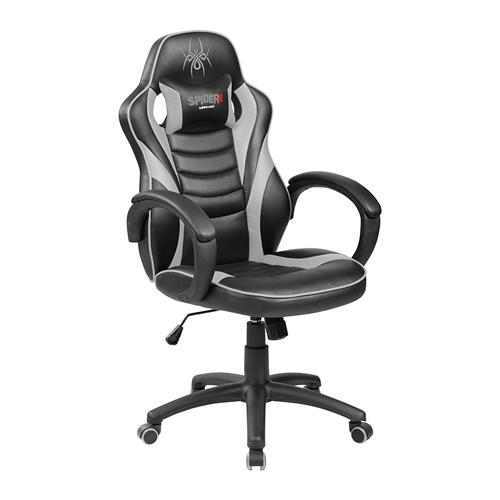 כיסא גיימרים ארגונומי ובטיחותי שחור אדום SPIDER X