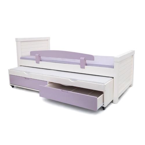 מיטת יחיד מושלמת בעיצוב קלאסי עם ידיות אינטגרליות