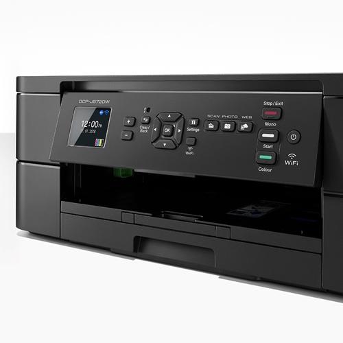 מדפסת צבעונית משולבת DCPJ572DW הזרקת דיו BROTHER
