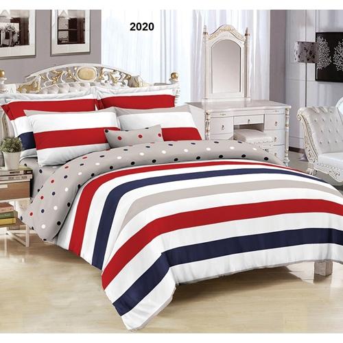 סט מצעים למיטה זוגית בעל תחושה רכה ומפנקת לשינה