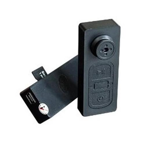 כפתור חולצה מוסלק מצלמת וידאו HD סמויה