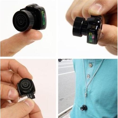 מיני מצלמת וידאו/תמונות קטנה מותאמת לאבטחה וטיולים