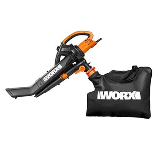 מפוח ושואב עלים חשמלי מקצועי בהספק 3000W מבית WORX