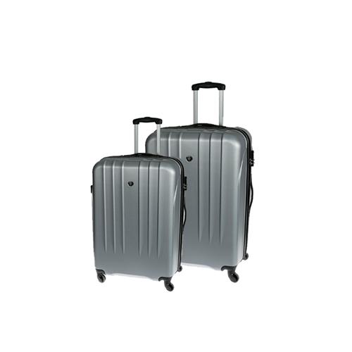 זוג מזוודות קשיחות ועמידות 24″ ו-20″ SWISS BRIEF