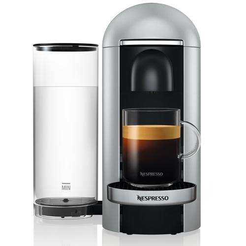 מכונת קפה VertuoPlus מבית NESPRESSO דגם GBC2 כסוף