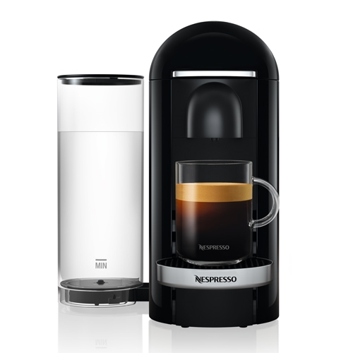 מכונת קפה VertuoPlus מבית NESPRESSO דגם GBC2 שחור