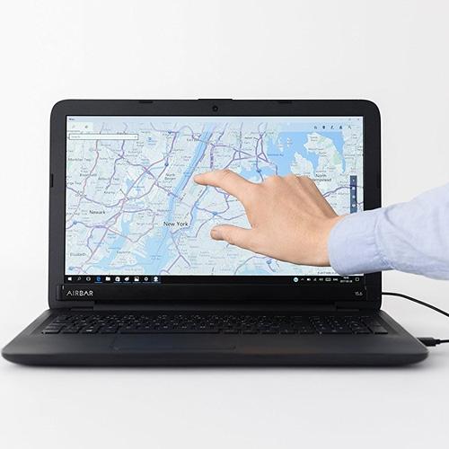 מוצר מהפכני! AirBar הופך כל צג מחשב למסך מגע