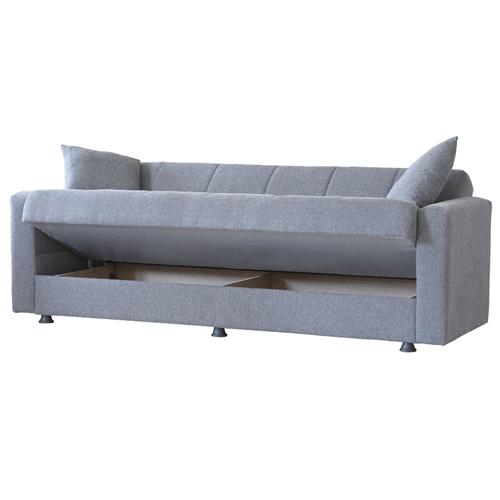ספה תלת מושבית איכותית נפתחת למיטה Bradex