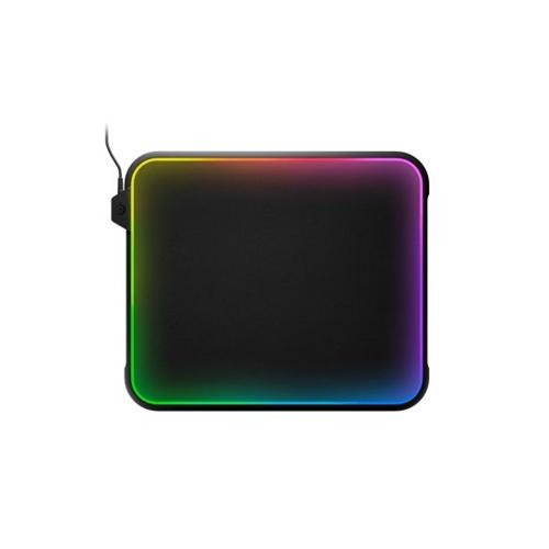 משטח קשיח לעכבר לגיימרים SteelSeries QcK Prism RGB