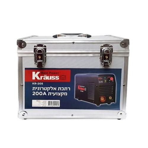 ערכת רתכת אלקטרונית 200A דגם חדש 2019 מבית Krauss