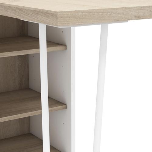 שולחן דו-שימושי משולב ארון אחסון דגם לקסוס