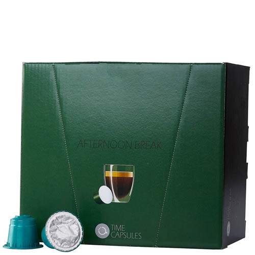 מארז 200 קפסולות קפה Time capsule תואמות Nespresso