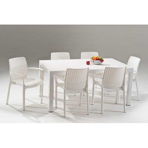 סט מלודי- שולחן ו-6 כסאות באלי MELODY SET כתר