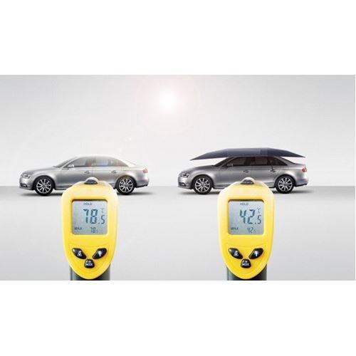 סוכך נייד חשמלי לרכב ולשטח - פטנט ייחודי