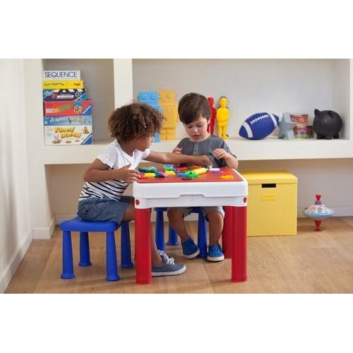 שולחן משחק + שני שרפרפים KETER