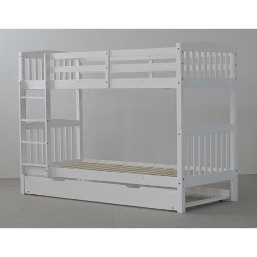 מיטת קומותיים עם מיטת חבר כולל מזרנים