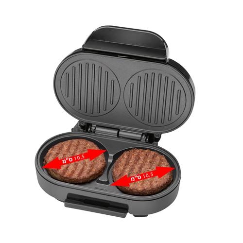 מכשיר ביתי לצליית 2 המבורגרים מבית סלמור SE-179