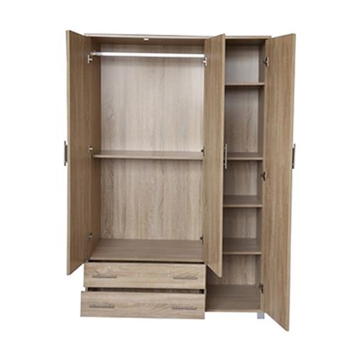 ארון 3 דלתות 2 מגירות ומדפים H.KLEIN