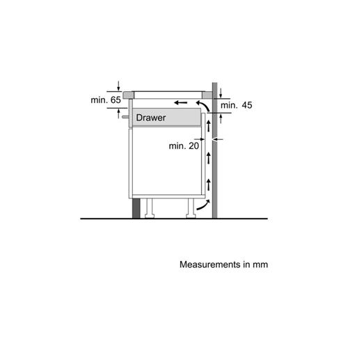 כיריים אינדוקציה Bosch PUE611BB1E בוש