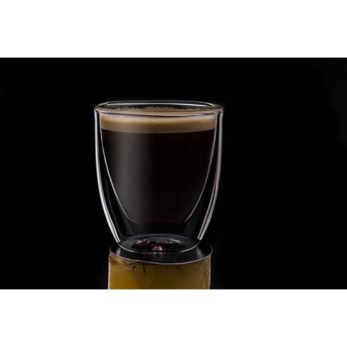 """שישיות כוסות אספרסו זכוכית כפולה 80 מ""""ל סולתם"""