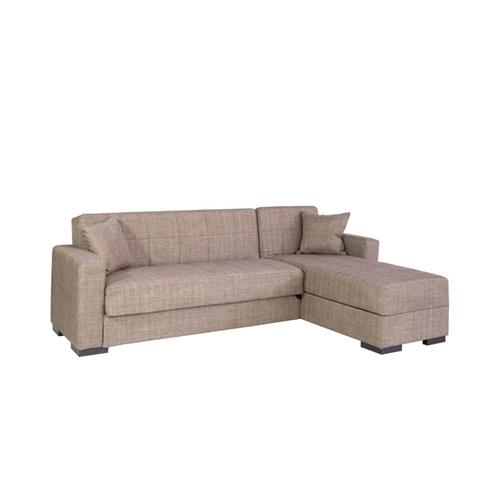 ספה פינתית נפתחת למיטה עם ארגז מצעים דגם מירה