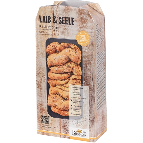 """תבנית לחם אובלית 25 ס""""מ BIRKMANN"""