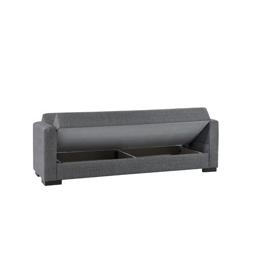 ספת אירוח תלת מושבית נפתחת למיטה עם ארגז דגם נורית