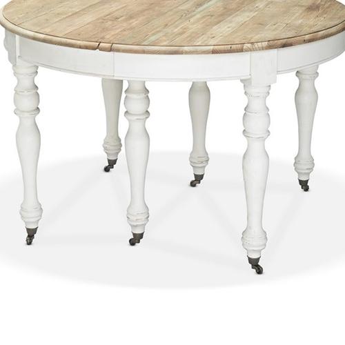 שולחן אוכל מעוצב עגול ביתילי דגם וילאר