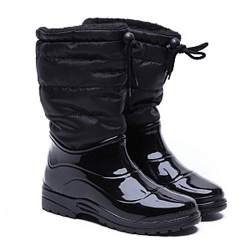 מגפי גשם שחור לנשים Scholl דגם Vestma