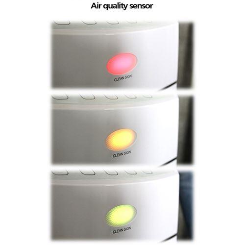 מסנן אוויר עד 99.97% עם תצוגת Led דגם: Luminoso