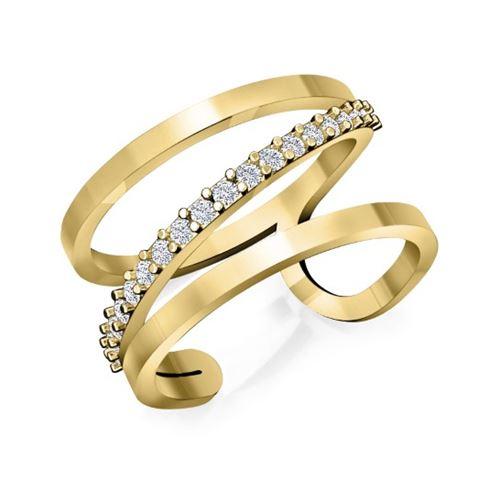 טבעת יהלומים לאישה